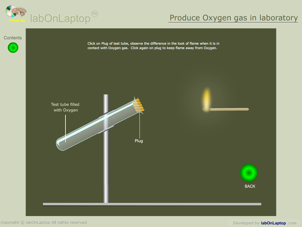 oxygen production lab The o2 gas sensor measures oxygen concentration in air, and is temperature  compensated for  this lab is suitable for ap biology as well as general biology.