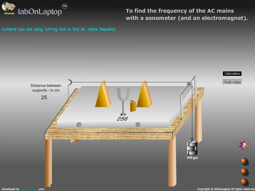 Frequency Of Ac : Find the frequency of ac mains with sonometer